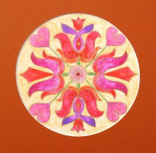 Mandala festés elemzéssel