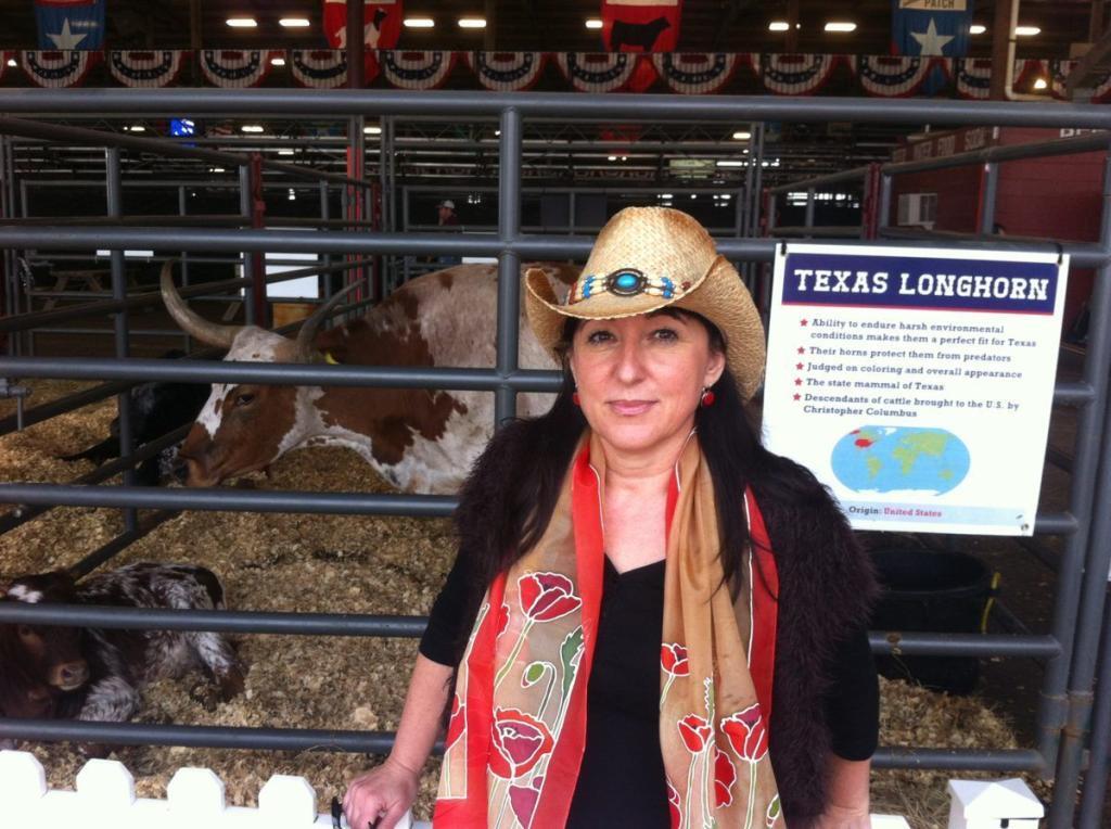 Pipacsos sálammal és egy texasi bikával