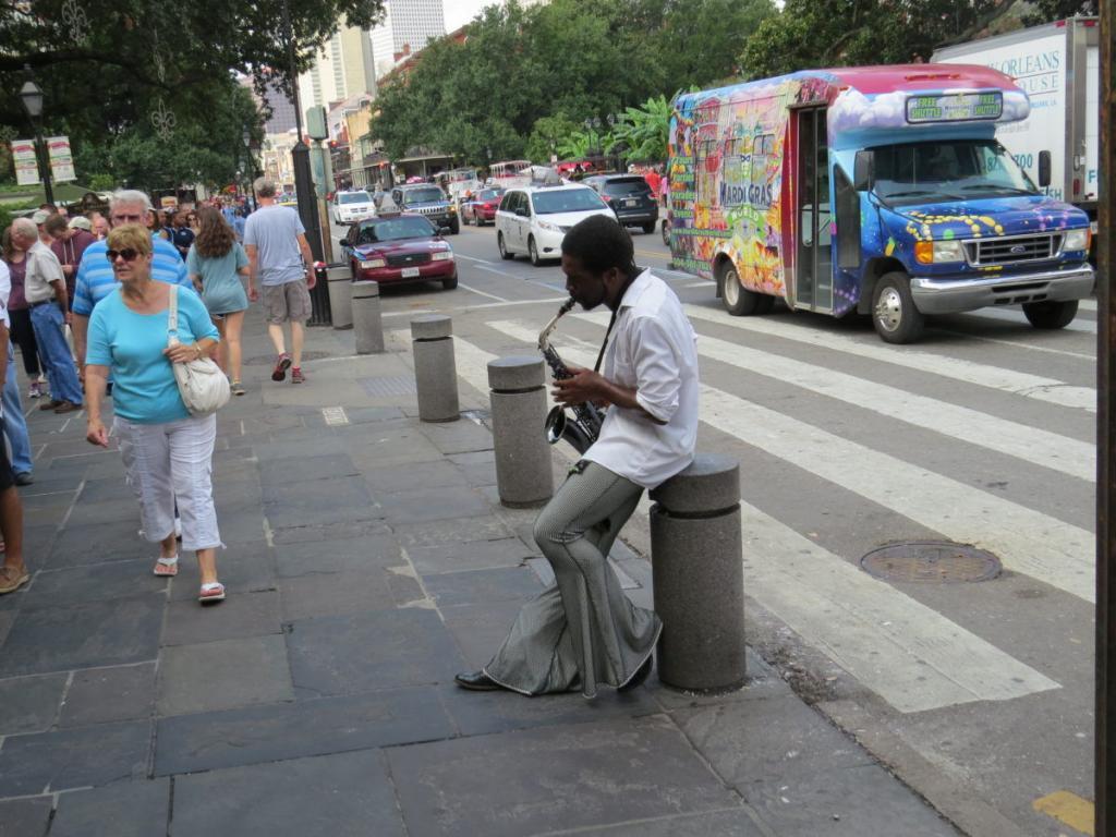New Orleans-i utcazenész