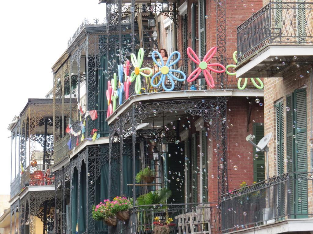 New Orleans-i erkélyek