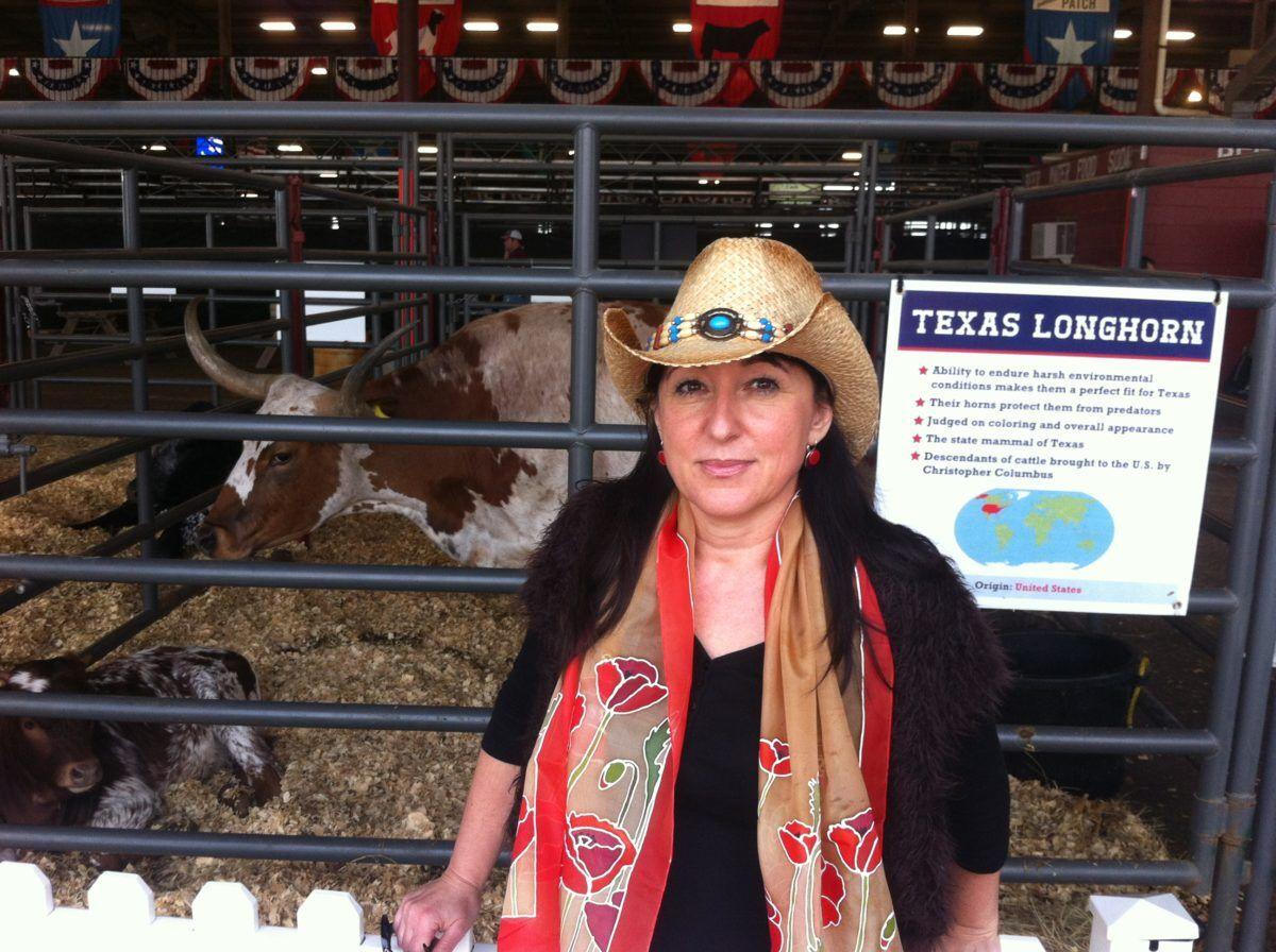Texas, rodeó, selyemsál