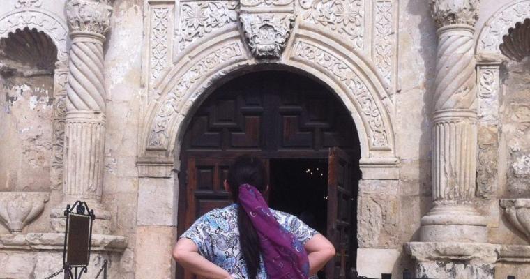 Selyemsállal az Alamónál
