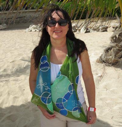 A Karib-tenger ihlette selyemsál