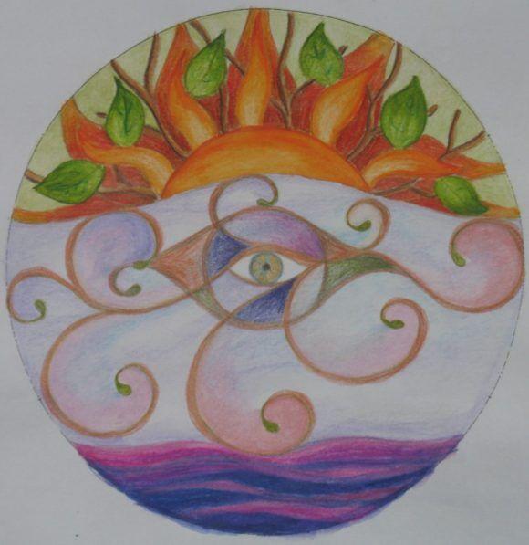 A mandala nem csak szimmetrikus lehet