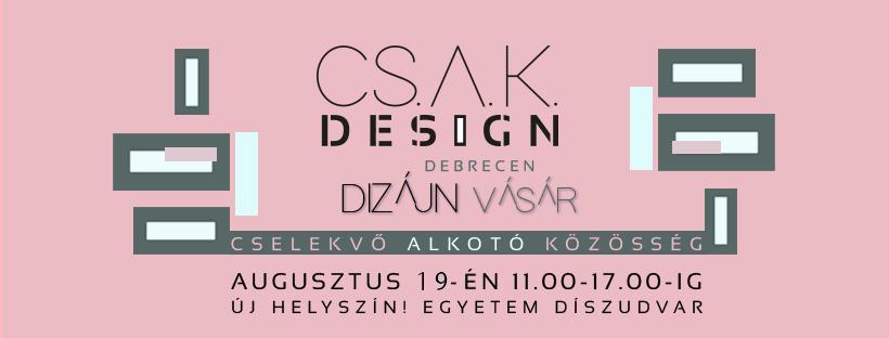 III. CSAK Design vásár