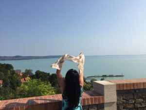 A Balaton Tihanynál