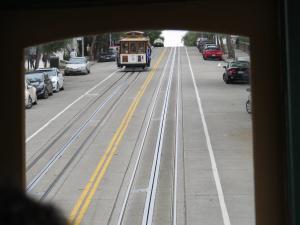 Villamos vonal San Franciscoban