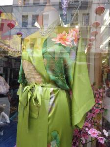 Kínai selyem köntös
