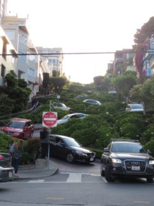Zig Zag utca San Francisco