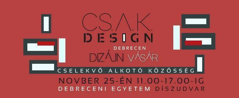 V. CSAK Design vásár
