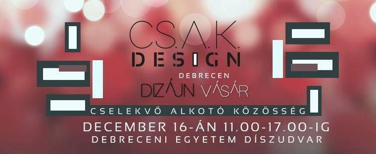 Adventi CSAK Design vásár