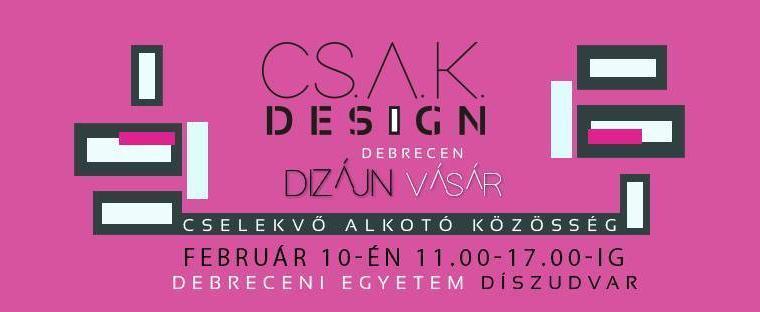 CSAK Design Vásár – Valentine's Day