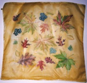 Őszi levelek selymen