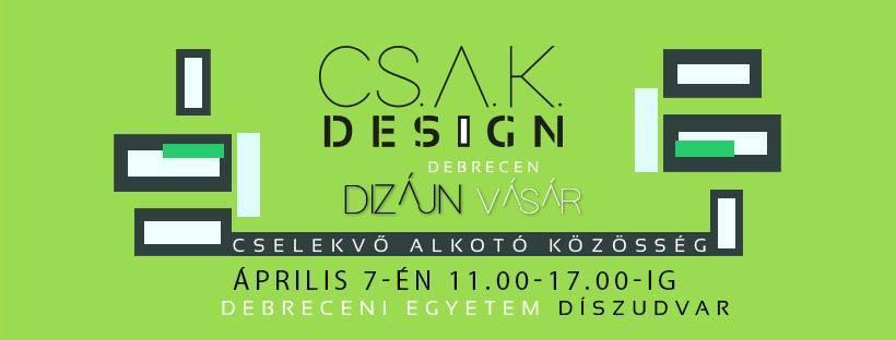 CSAK Design vásár