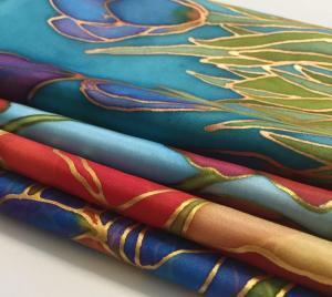 Selyemsálak, selyemkendők