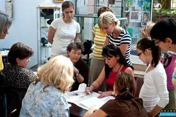 Selyemfestő workshop Debrecenben