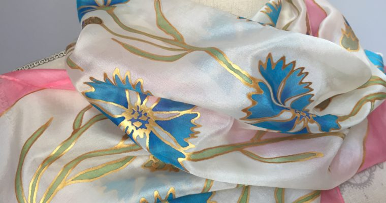 A búzavirágos selyemsál érdekes története