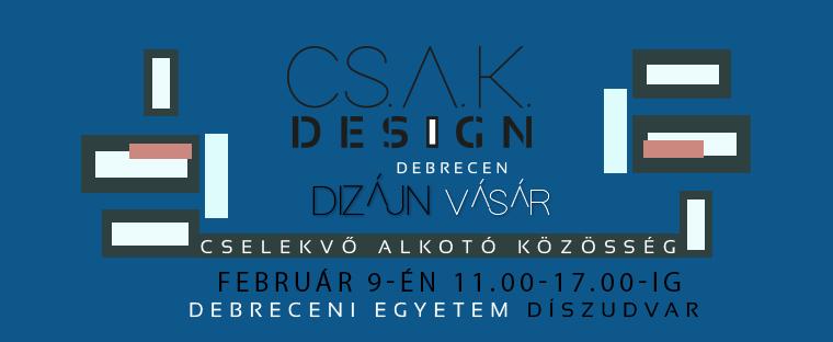 Csak Design Vásár / tárgyak bűvöletében
