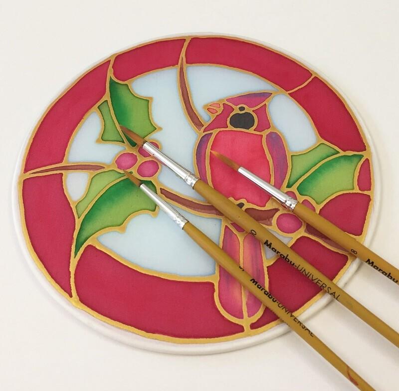 adventi dekoráció selyemből
